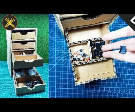 DIY - Cheapest Storage Organizers for Electronic Components and Parts | Gold Screw