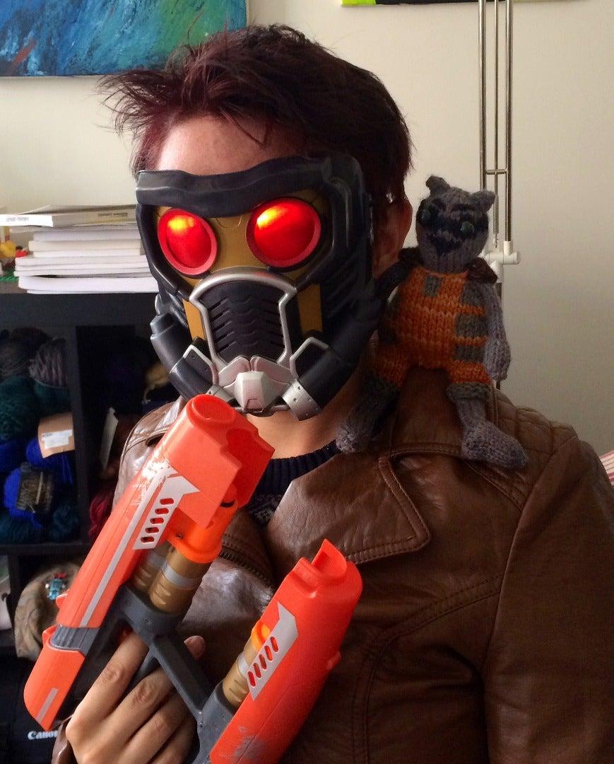 Star Lord Mask - Halloween Upgrade