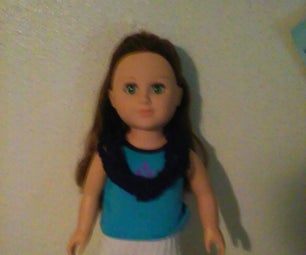 American Girl Doll Yarn Necklace