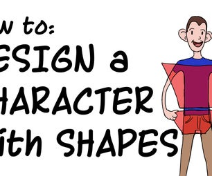 Designing a Cartoon Character With Shapes