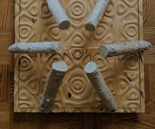 Living Mushroom Sculpture