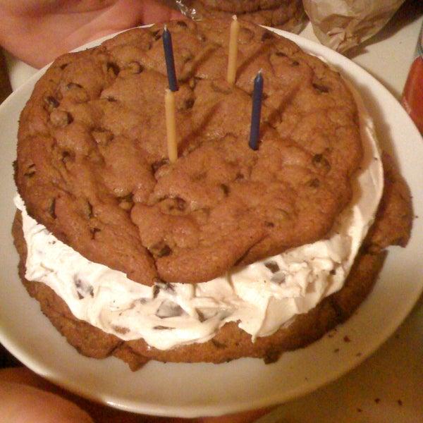 Giant Ice Cream Cookie Sandwich