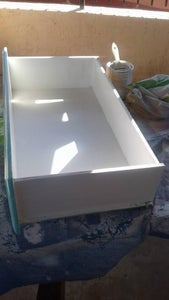 Painting the Inside of the Drawer
