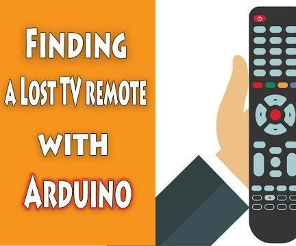 Finding a Lost TV Remote With Arduino & Bluetooth