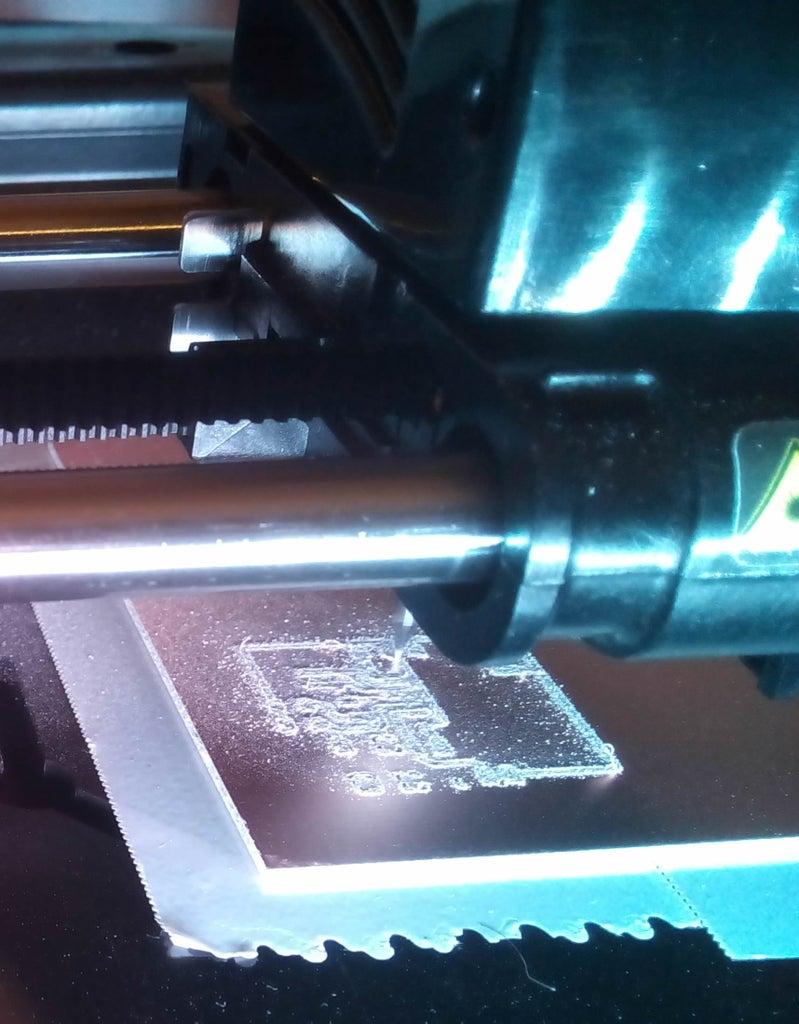 Milling PCB Traces