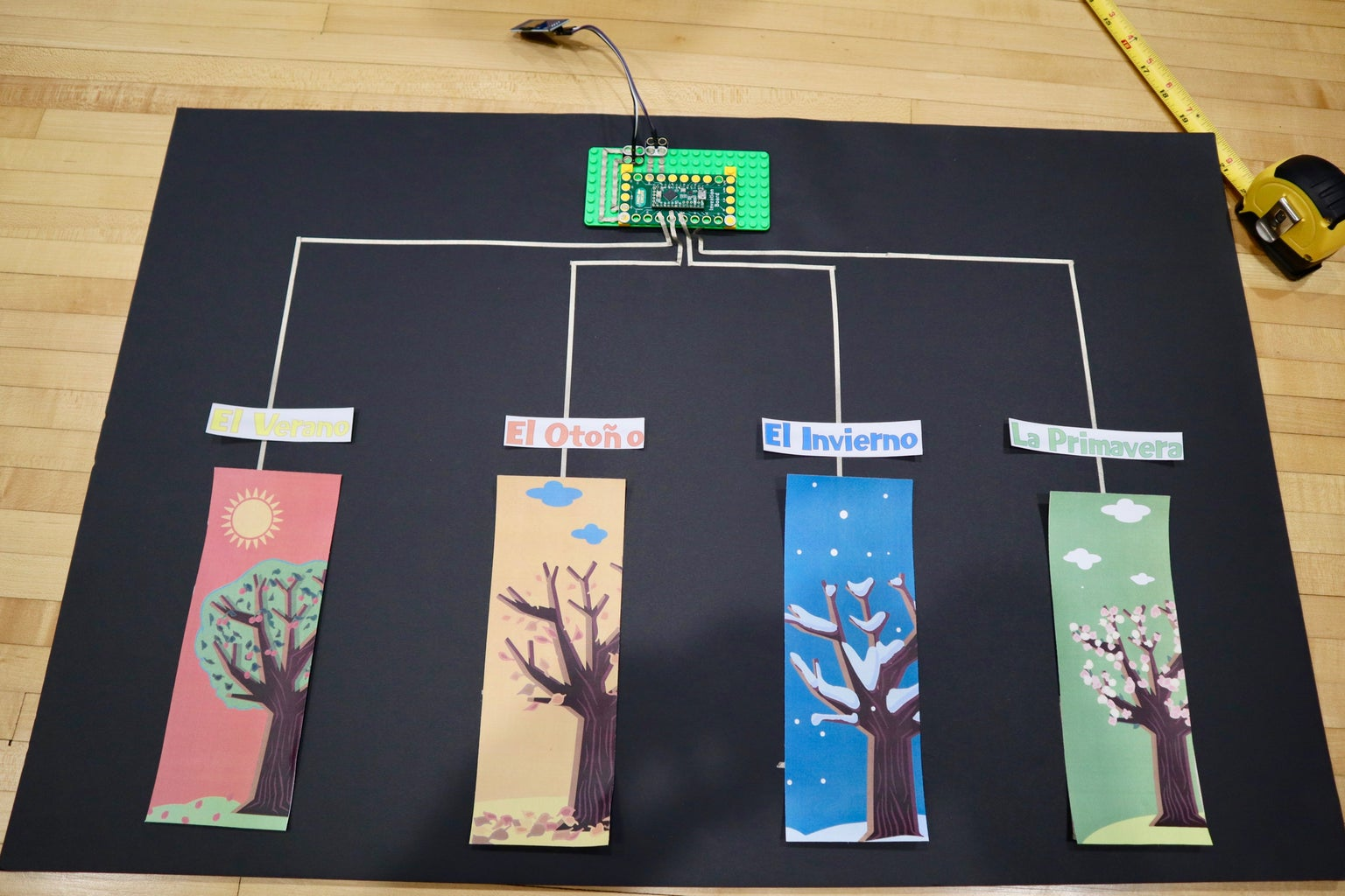 Classroom MP3 Quiz Board