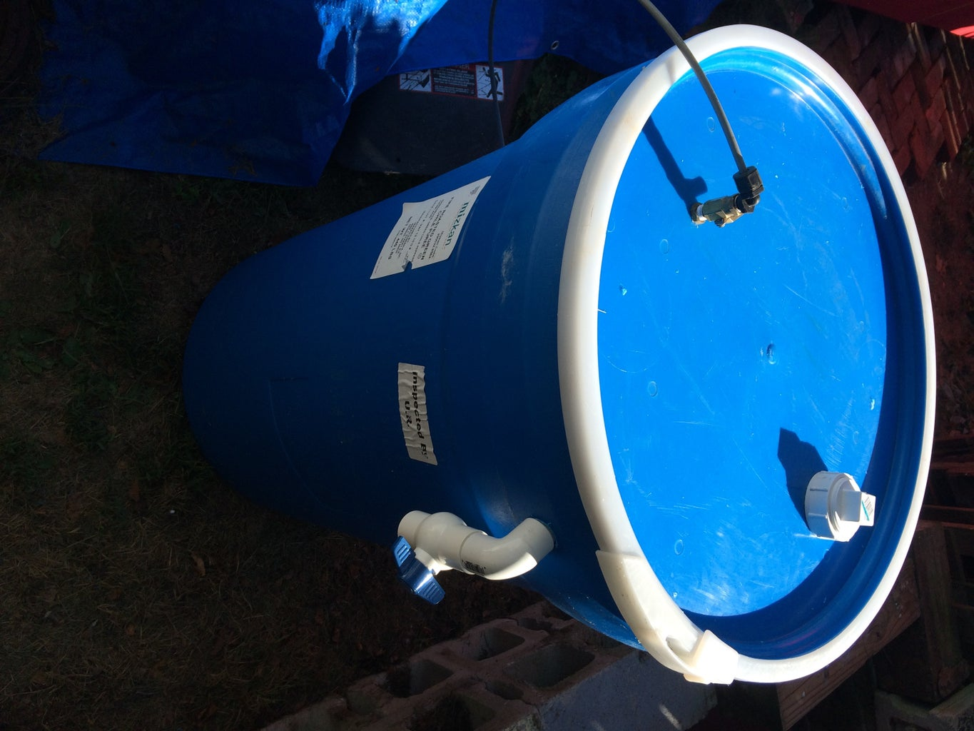 Add the Biogas Outlet