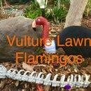 Vulture Lawn Flamingos