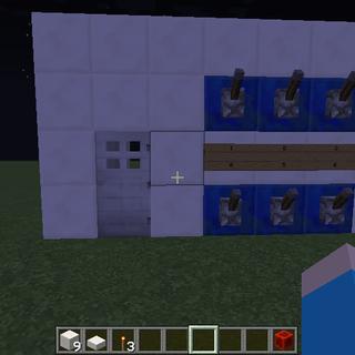 How to Make a Simple Passcode Door in Minecraft