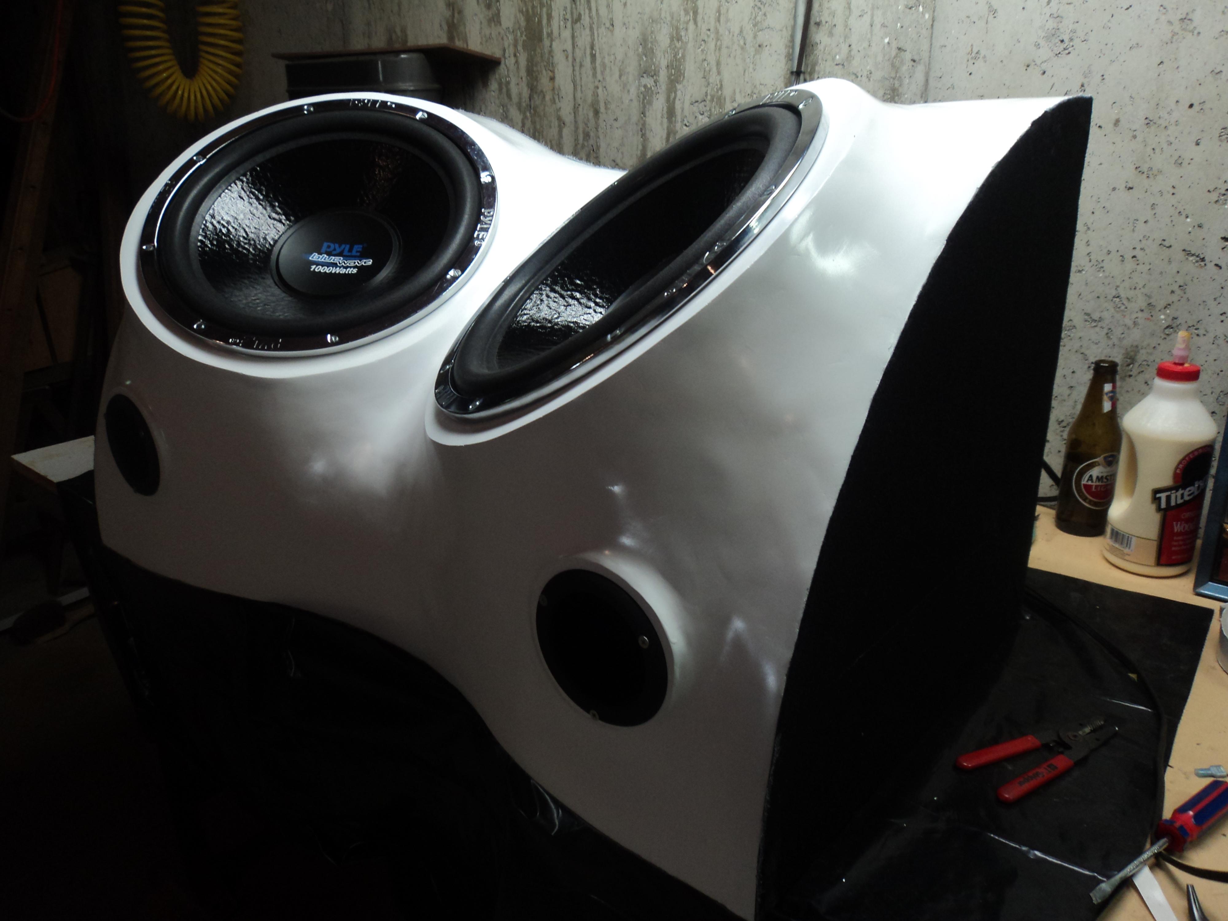 Build a Fiberglass Subwoofer, Start to Finish
