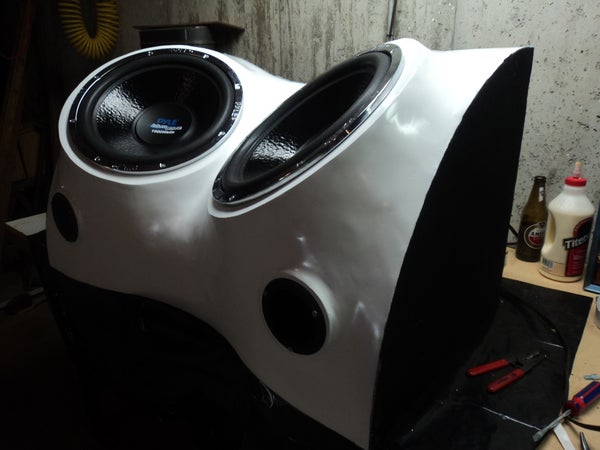 Build a Fiberglass Subwoofer, Start to Finish