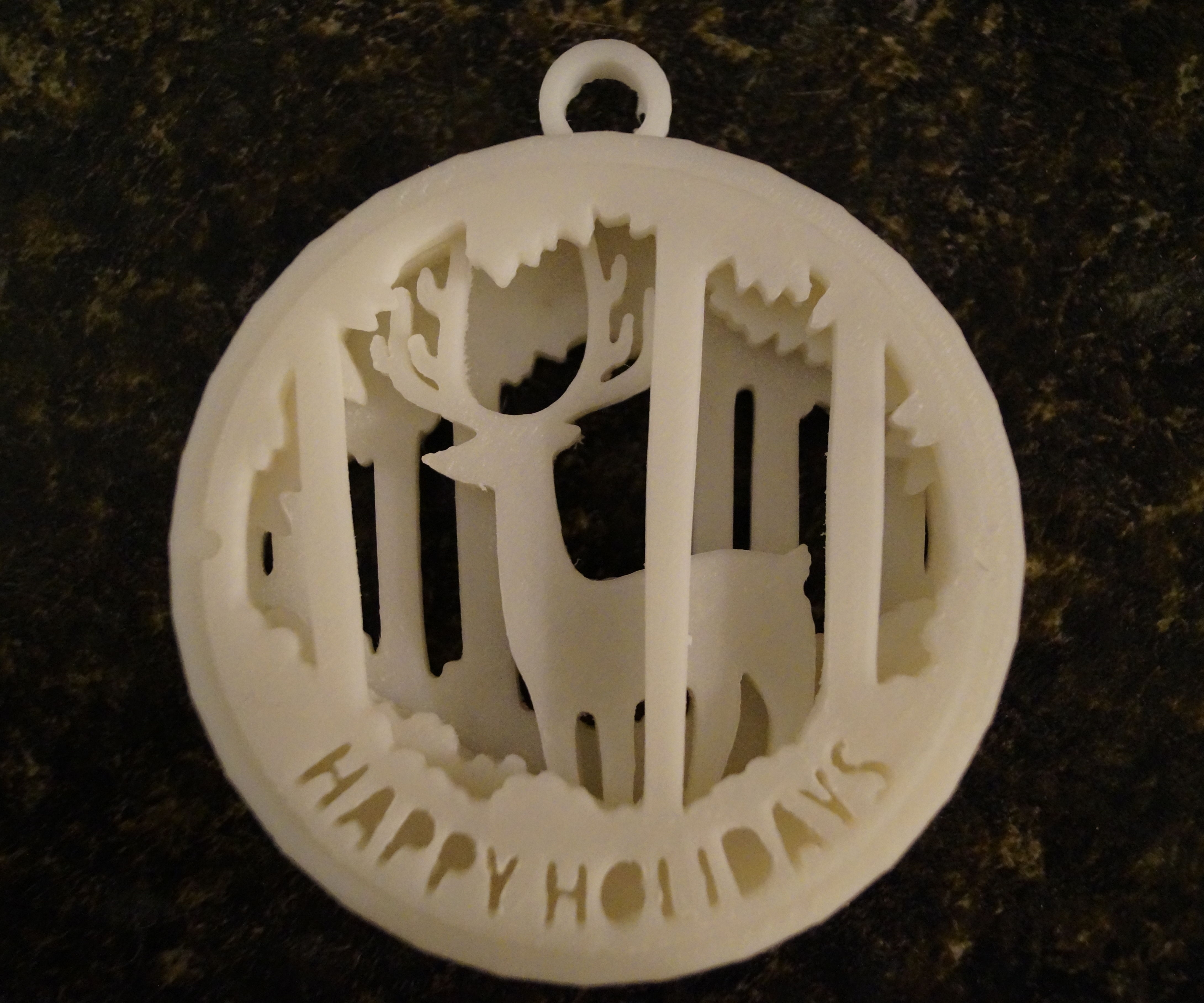 American Forest Ornament