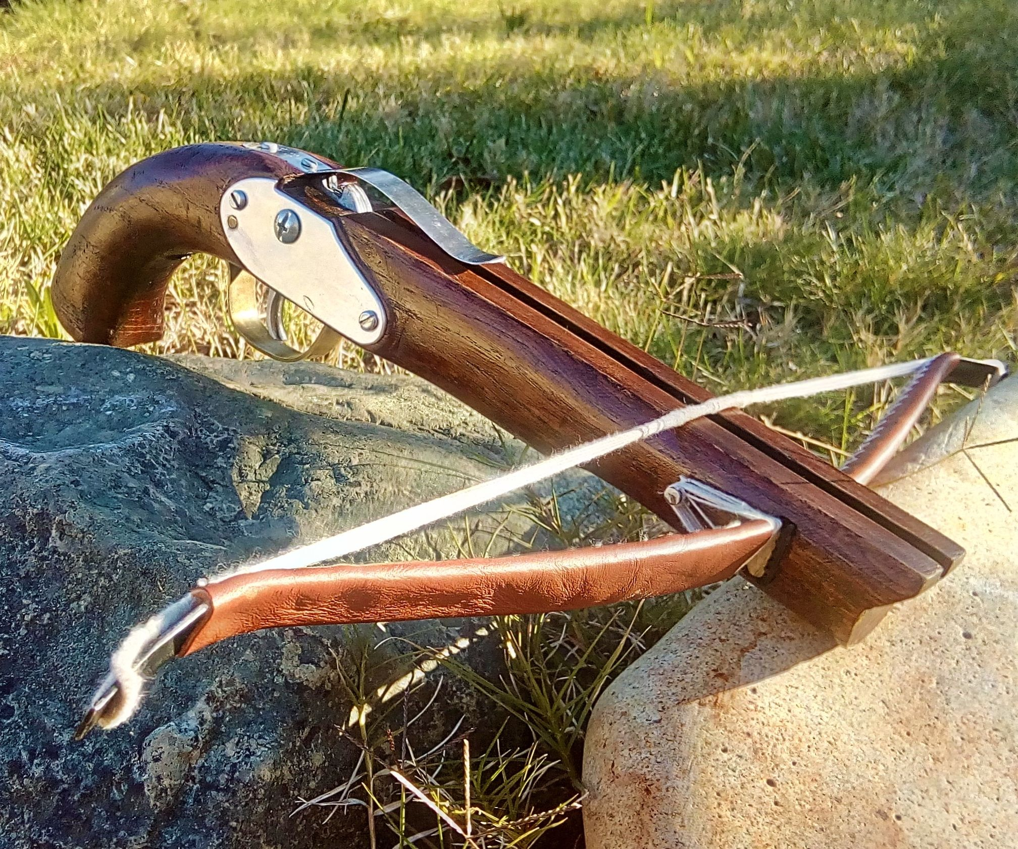 Make a hardwood Pistol Crossbow
