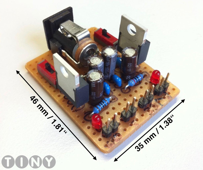 DIY Power Supply for 5V and 3.3V