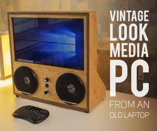 复古看媒体PC从一个旧笔记本电脑