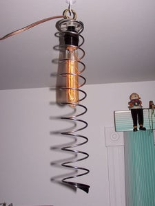 Lamp Steampunk El Caracol  Steampunkmachines