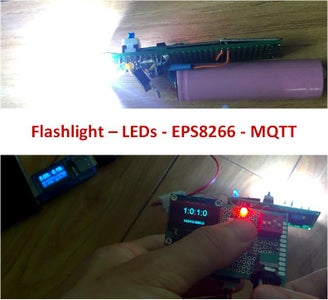 From Flashlight to Motion Sensor With ESP8266 and MQTT