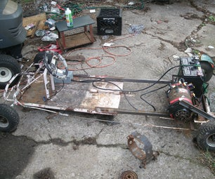 Electric Go Kart From Old Trash (On a Budget)