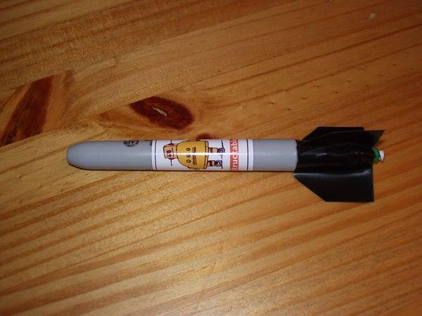 Office Supplies Challenge - Liquid Fuel Rocket