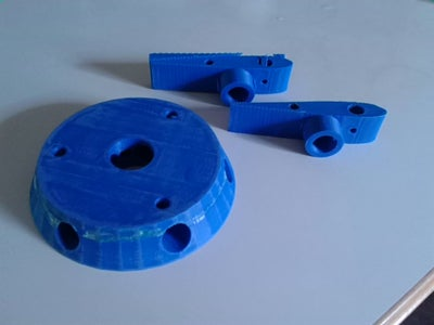 Print the Plastic Parts or .STL's