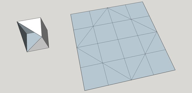 Make Horizontal and Vertical Folds