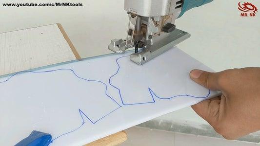 Cut the Acrylic Sheet