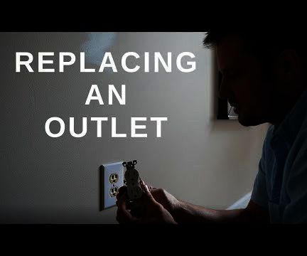 How to Replace an Electrical Outlet With a Tamper Resistant Version
