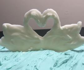 White Chocolate Swans