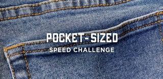 口袋大小的速度挑战