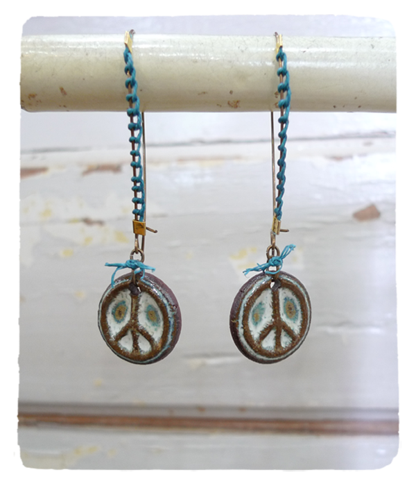 Peaceful Stitches Earrings