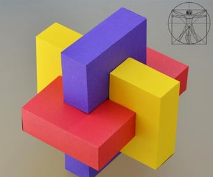 Six Boxes and the Golden Ratio