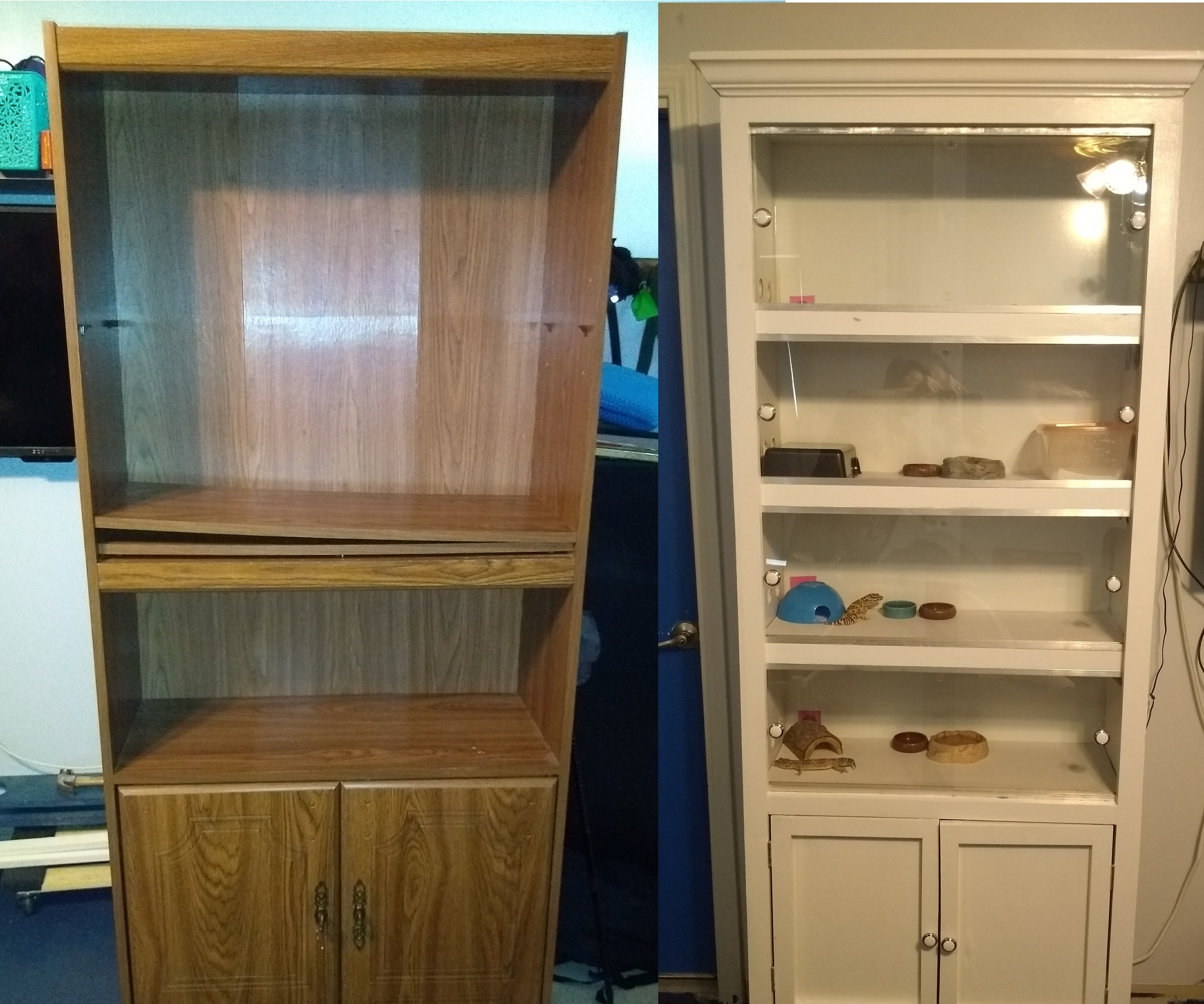 Upcycle A Particleboard Bookcase Into A Reptile Enclosure 21 Steps Instructables