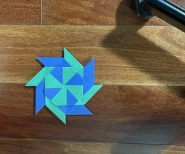 How to Make a Paper Frisbee That Turns Into a Star