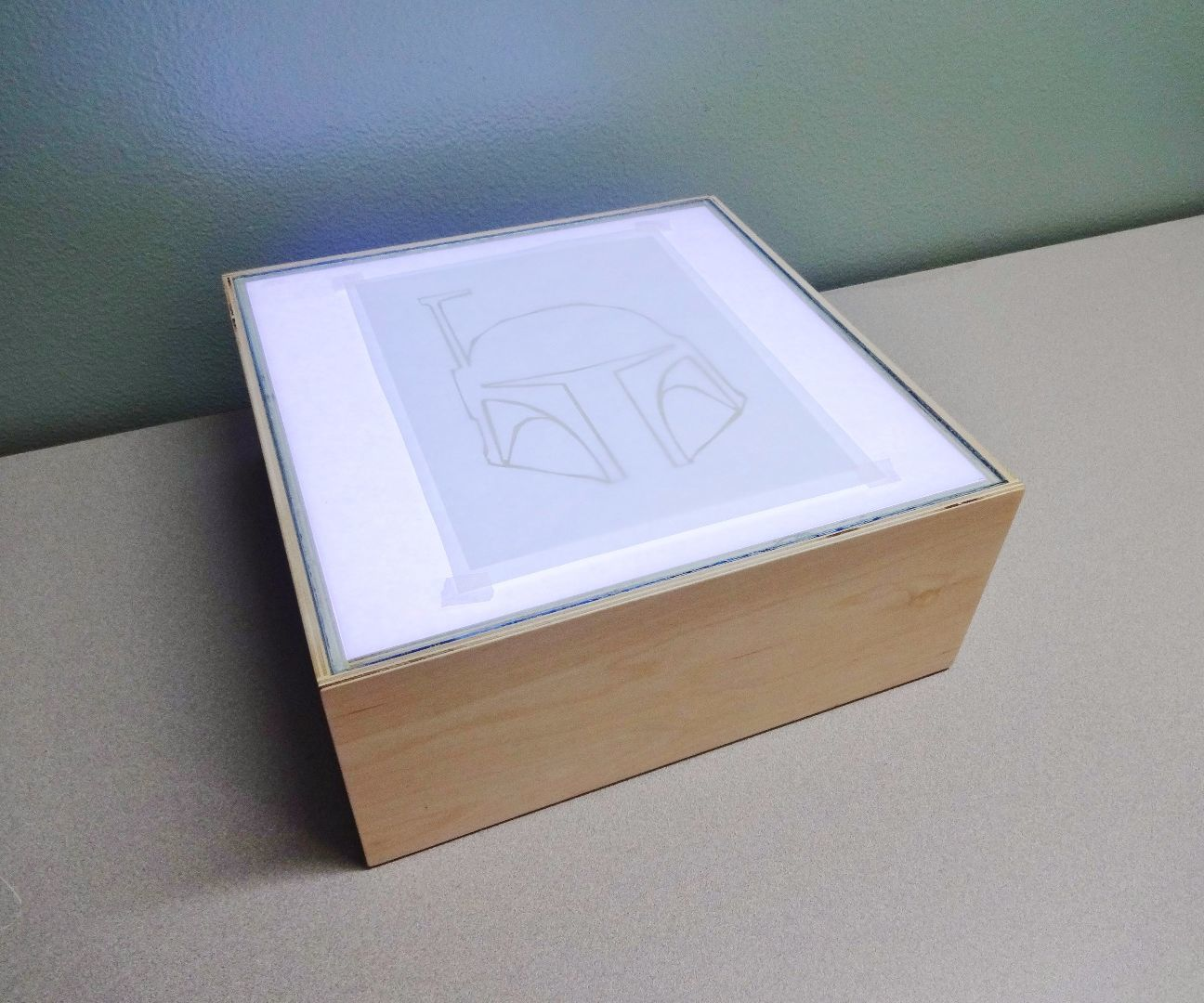 How to make an LED light box