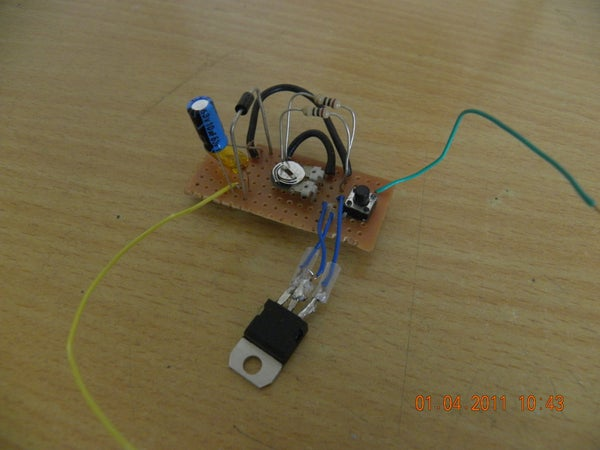 How to Make a Laser Diode Driver That Enables You to Burn Paper