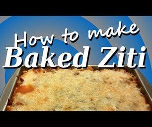 How to Make Baked Ziti