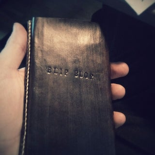 Wet Formed Leather Phone Case