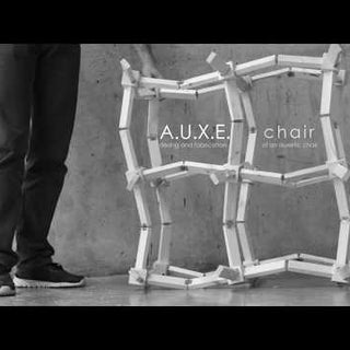 A.U.X.E.chair : Design and Fabrication of an Adaptive Auxetic Chair