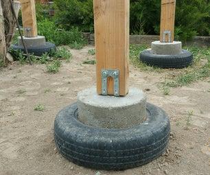 Concrete Tire Piers