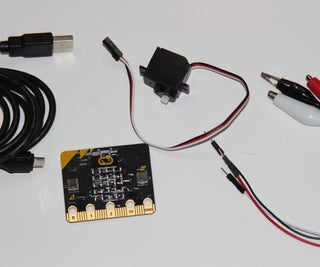 Run a Mini Servo With Micro:bit