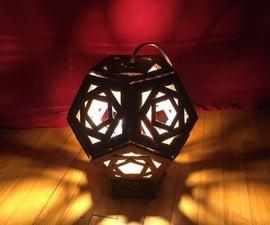 DIY Cardboard Lantern