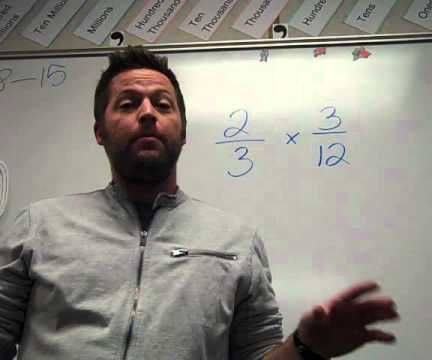 How to Multiply Fractions Made Easy With Mr. Wilson