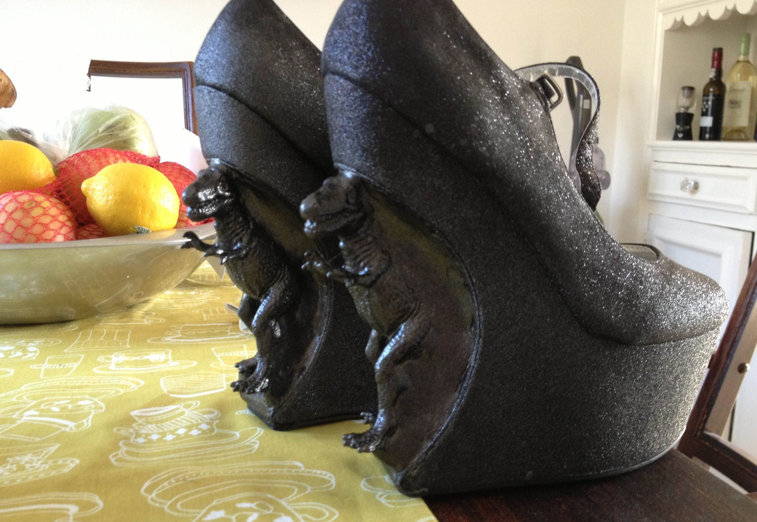 Dinosaur Heels