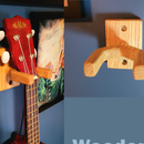 Wooden Ukulele Wall Hanger