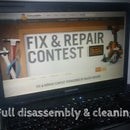 Full disassembly and cleaning of a laptop Compaq CQ61 (in details)