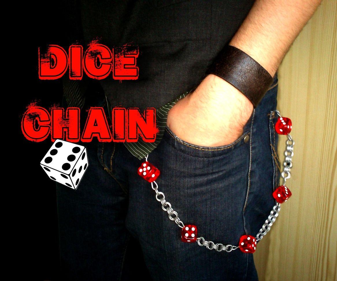 Dice wallet/ key chain