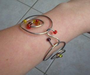 Make Your Own Oriental Looking Bracelet