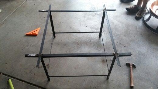 "Cut and Weld 4 5"" Angle Iron"