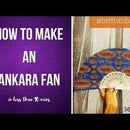 DIY How to Make an African-Inspired Fan