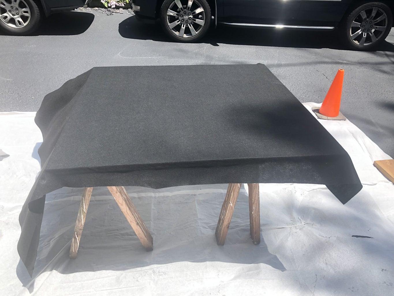 Wrap Panels With Felt